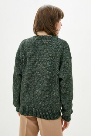 Кардиган «Аура» темно-зеленого кольору