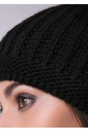 Шапка «Баріта» чорного кольору