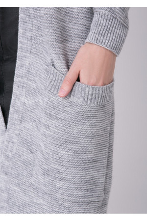 Кардиган «Вернісаж» сірого кольору