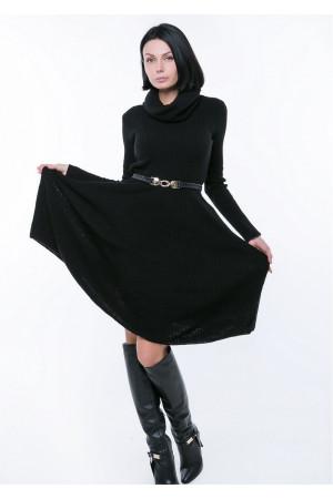 Платье «Мери» черного цвета