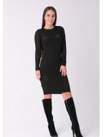 Платье «Ажур» черного цвета