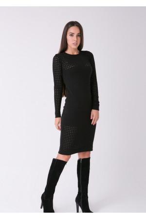 Сукня «Ажур» чорного кольору