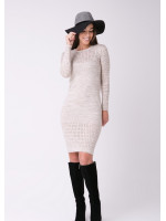 Сукня «Ажур» кольору шампіньйон
