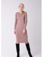 Платье «Ажур» цвета марсала
