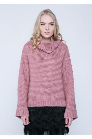 Свитер «Арин» розового цвета