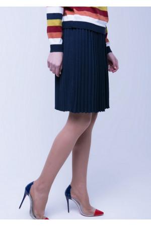 Спідниця «Арті» темно-синього кольору