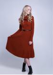 Сукня «Мері» теракотового кольору