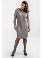 Сукня «Дагмар» сіро-бежевого кольору