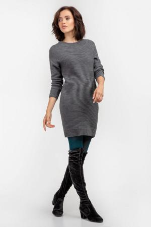 Платье «Энрика» серого цвета