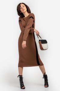 Платье «Альда» цвета кэмел
