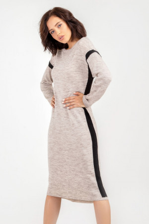 Сукня «Альда» кольору льону