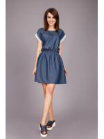 Платье «Банти» синего цвета