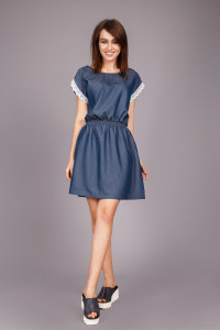 Сукня «Банті» синього кольору