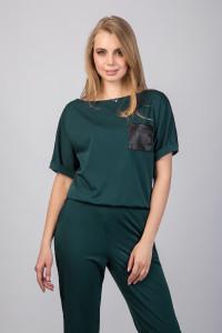 Комбинезон «Деджа» зеленого цвета
