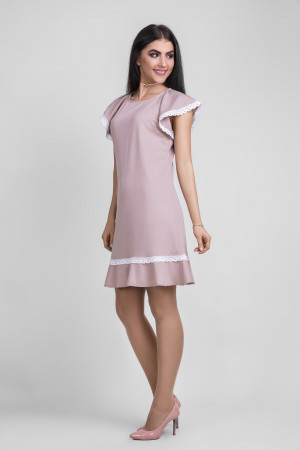 Платье «Киндра» цвета пудры