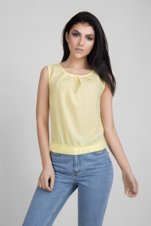Блуза «Мейбл» жовтого кольору