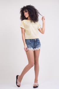 Блуза «Табита» желтого цвета