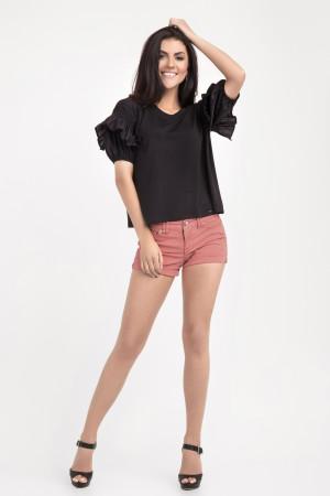 Блуза «Самми» черного цвета