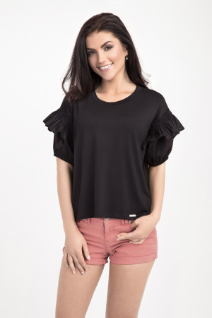 Блуза «Саммі» чорного кольору