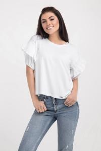 Блуза «Саммі» білого кольору