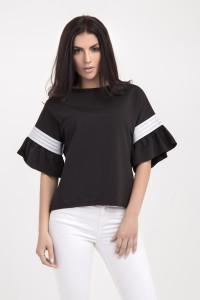 Блуза «Мона» чорного кольору