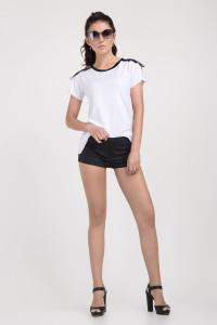 Блуза «Юлия» белого цвета