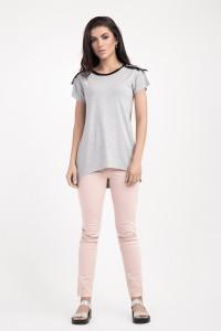 Блуза «Юлия» серого цвета