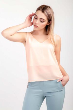 Блуза «Лайза» персикового кольору