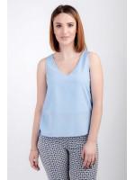 Блуза «Лайза» блакитного кольору