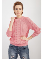 Джемпер «Саша» розового цвета