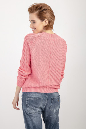 Джемпер «Саша» рожевого кольору