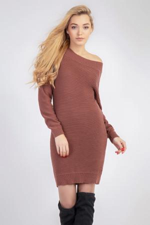Сукня «Белль» цегляного кольору