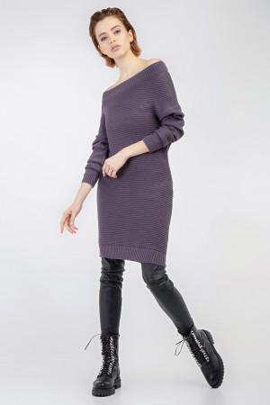 Платье «Белль» сиреневого цвета