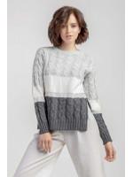 Джемпер «Донга» сірого кольору