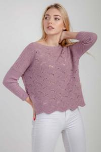 Джемпер «Інга» рожевого кольору