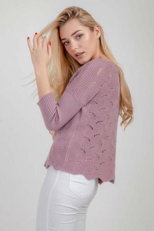 Джемпер «Инга» розового цвета