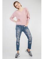 Джемпер «Агна» розового цвета