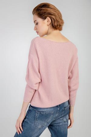Джемпер «Агна» рожевого кольору