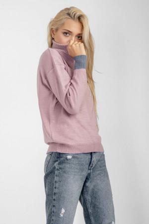 Свитер «Кука» розового цвета