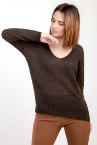 Джемпер «Франческа» коричневого цвета