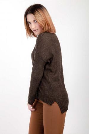 Джемпер «Франческа» коричневого кольору