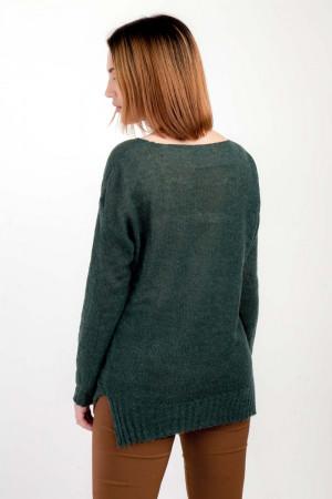 Джемпер «Франческа» зеленого цвета