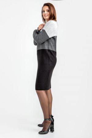 Сукня «Келлі» сірого кольору