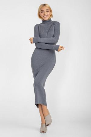 Платье «Альма» серо-голубого цвета