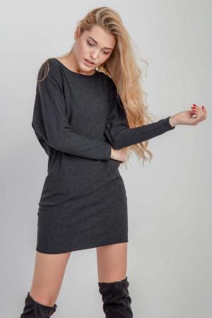 Платье «Алекса» цвета графита