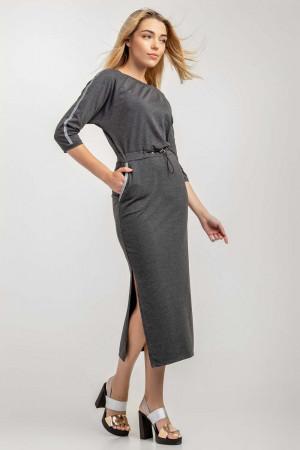 Сукня «Ксенія» кольору антрацит