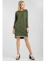 Сукня «Агнія» кольору хакі