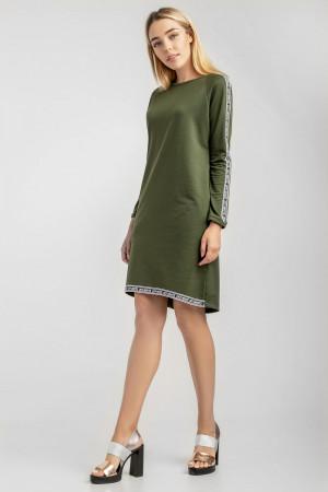 Платье «Агния» цвета хаки