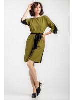 Платье «Мерилин» оливкового цвета