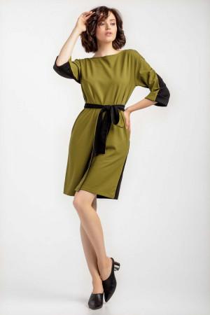 Сукня «Мерилін» оливкового кольору